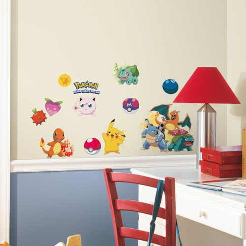 ICONIC POKEMON WALL DECALS