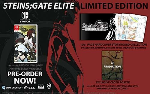 Steins; Gate Elite - Limited Edition for Nintendo Switch