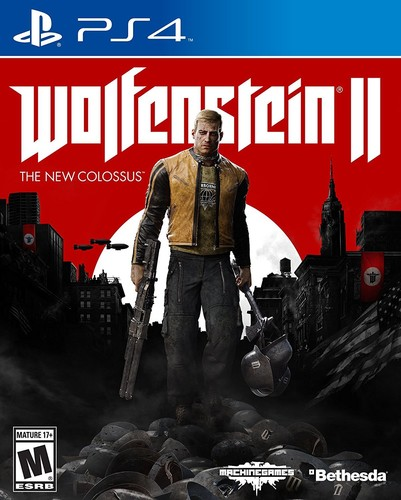 Ps4 Wolfenstein II: The New Colossus - Wolfenstein Ii: The New Colossus
