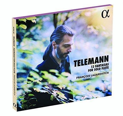 Georg Philipp Telemann: 12 Fantasias for Solo Flute