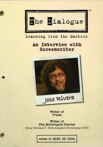 The Dialogue: Learning From the Masters: An Interview With Screenwriter Jose Rivera