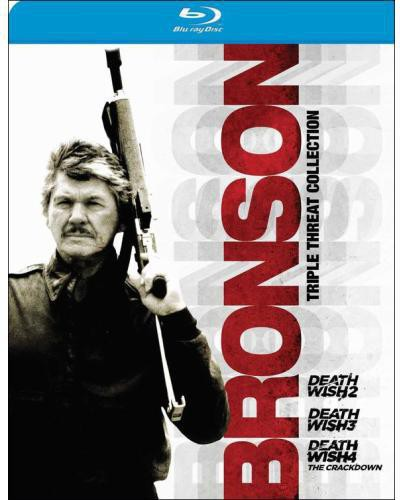 Bronson Triple Threat Collection: Death Wish 2 /  Death Wish 3 /  Death Wish 4: The Crackdown