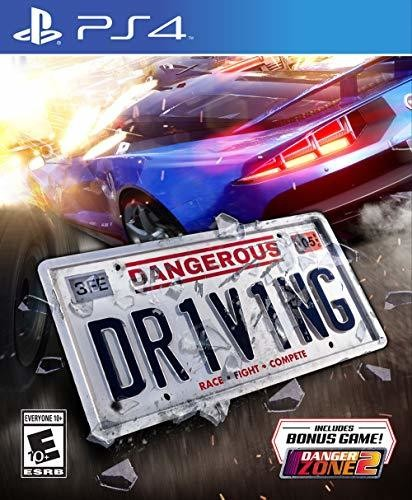 - Dangerous Driving for PlayStation 4