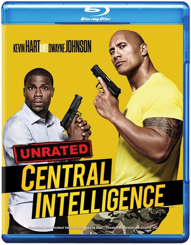 Central Intelligence [Unrated] [UltraViolet] [Blu-ray]