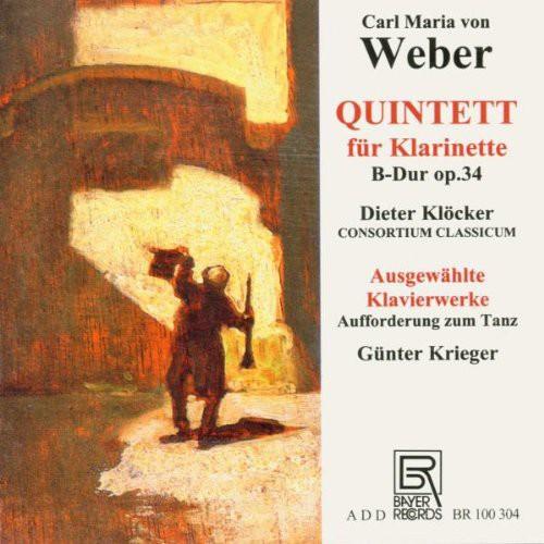 Quintet for Clarinet Op. 34