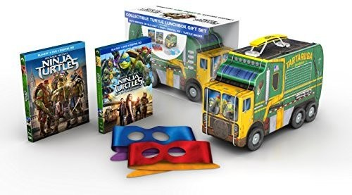 Teenage Mutant Ninja Turtles 2: Lunchbox Giftset