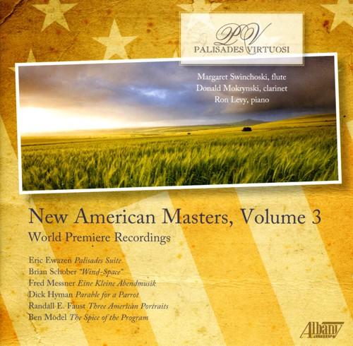 Ewazen/ Schober/ Messner : New American Masters Vol. 3