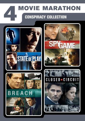 4-Movie Marathon: Conspiracy Collection