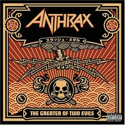 Anthrax - Greater Of Two Evils [Import LP]