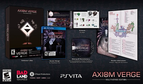 Axiom Verge Multiverse for PlayStation Vita