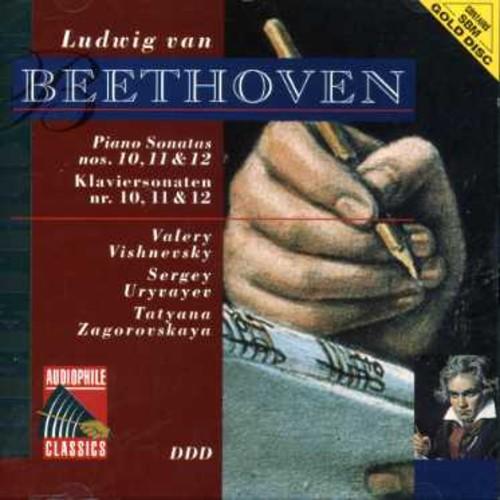 Beethoven: Pno Sonatas Nos 10 - 12