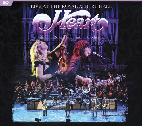 Heart - Live at The Royal Albert Hall with The Royal Philharmonic Orchestra [DVD]