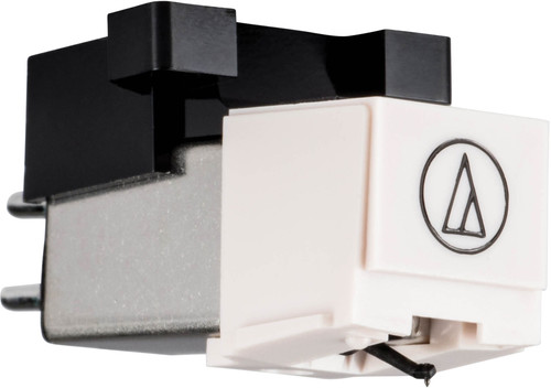 - Gemini CN-15 Audio Technica Turntable Stereo Cartridge with Stylus (White)