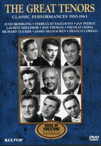 The Great Tenors: Classic Performances 1950-1963