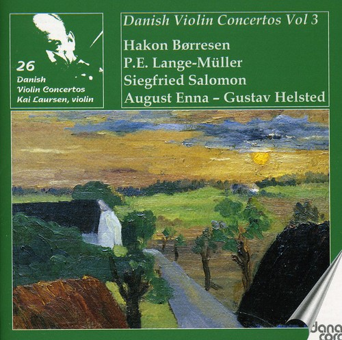 Kai Laursen Plays 26 Danish Violin Concertos 3