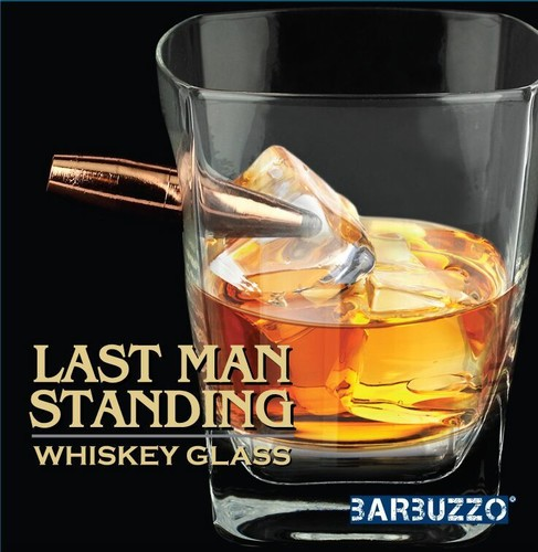 BARBUZZO LAST MAN STANDING - BULLET WHISKEY GLASS