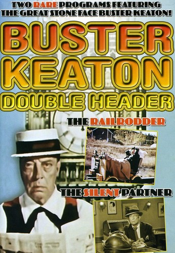 Buster Keaton Double Header: The Railrodder /  The Silent Partner