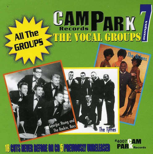 Cameo Parkway Vocal Groups, Vol. 7