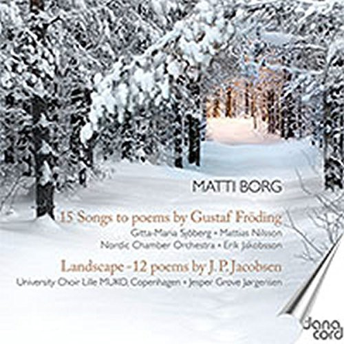 15 Songs to Poems By Gustaf Froding