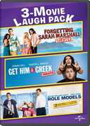 3-Movie Laugh Pack: Forgetting Sarah Marshall /  Get Him to the Greek /  Role Models , Brad Armstrong