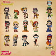 FUNKO MYSTERY MINIS SPECIALTY SERIES: DC BOMBSHELLS (ONE Mystery Figure Per Purchase)