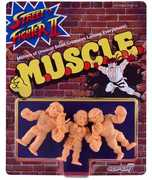 Super7 - M.U.S.C.L.E. - Street Fighter II MUSCLE 3-Pack - Pack B