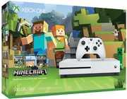 Microsoft Xbox One S 500GB Console: White - Minecraft Bundle