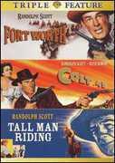 Fort Worth /  Colt .45 /  Tall Man Riding , Randolph Scott