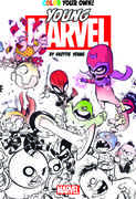 Color Your Own Young Marvel By Skottie Young (Marvel)