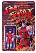 Super7 - ReAction - Street Fighter II ReAction Figures - M.Bison