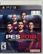 Pro Evo Soccer 2018 for PlayStation 3