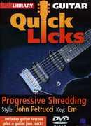 Progressive Shredding: Quick Licks , Andy James
