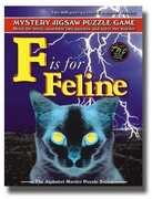 F is for Feline - Alphabet Mystery Puzzle
