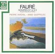 Faure: Sonates Op 13 & 108 Pour Piano [Import]