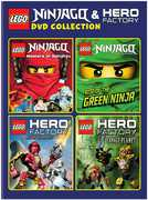 Lego: Ninjago and Hero Factory DVD Collection , Henry Bergman