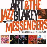 5 Original Albums by Art Blakey & The Jazz Messengers