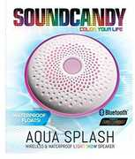 Sound Candy SC3013WHBBT Aqua Splash Waterproof Bluetooth Speaker White