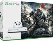 Microsoft Xbox One S 1TB Console: White - Gears of War 4  Limited Edition Bundle