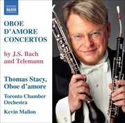 Oboe D'amore Concertos , Thomas Stacy