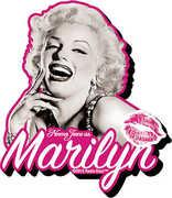 Marilyn B&W Funky Chunky Magnet