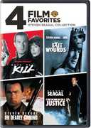 4 Film Favorites: Steven Seagal Collection , Steven Seagal