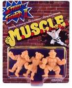 Super7 - M.U.S.C.L.E. - Street Fighter II MUSCLE 3-Pack - Pack D
