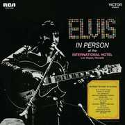 In Person At The International Hotel Las Vegas Nevada , Elvis Presley