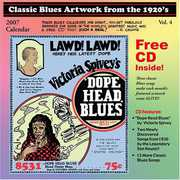 Classic Blues Artwork 1920's Calendar 2007 /  Various