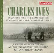 Charles Ives: Symphonies Vol 3