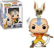FUNKO POP! & BUDDY: Avatar - Aang w/  Momo