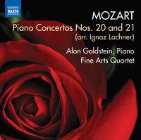 Mozart / Goldstein / Fine Arts Quartet / Calin - Piano Concertos Nos. 20 & 21