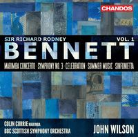 Colin Currie - Bennett: Orchestral Works, Vol 1