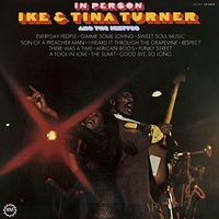 Ike Turner & Tina - In Person (Jmlp) [Limited Edition] [Remastered] (Shm) (Jpn)