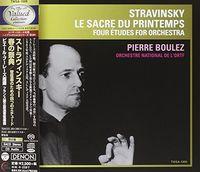 Stravinsky / Pierre Boulez - Stravinsky: Le Sacre Du Printemps / 4 Etudes [Limited Edition]